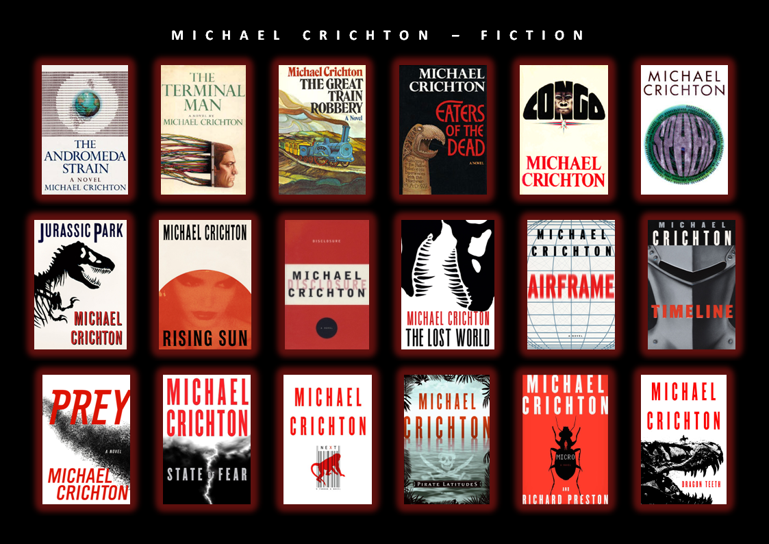 michael crichton the complete overview of published works 1969 the andromeda strain 1972 the terminal man 1975 the great train robbery 1976 eaters of the dead also re released as the 13th warrior 1980